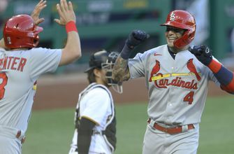 Yadi, Flaherty lift Cardinals over Pirates for fourth straight victory
