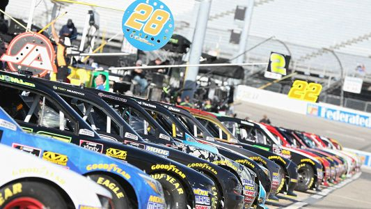 NASCAR lineup at Richmond: Starting order, pole for Sunday's race without qualifying