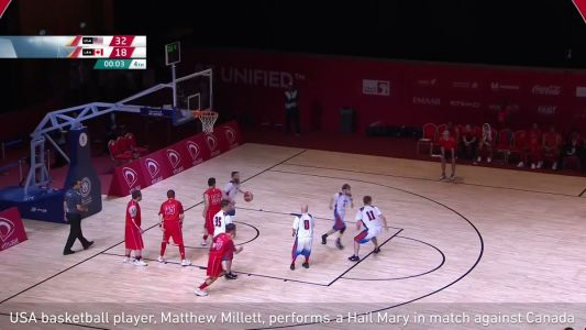 Great Clips of the Week: Special Olympian's 3/4-court buzzer beater is must-see TV