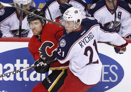 Flames acquire Kerby Rychel for Hunter Shinkaruk in swap of AHL forwards