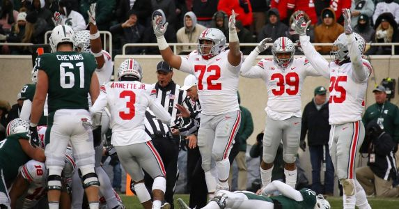 Ohio State remains at No. 10 in latest College Football Playoff Rankings