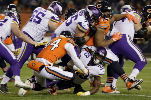 Vikings' rushing attack shut down by Bears