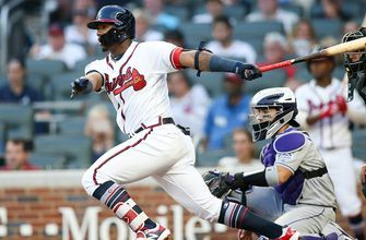 Braves LIVE To GO: Ronald Acuña Jr.s' homer streak ends as Braves fall to Rockies