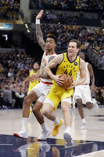 Pacers beat Hawks 116-108 for 5th consecutive victory