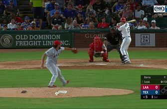 WATCH: Nick Solak homers to give the Rangers a 1-0 lead | Rangers ENCORE