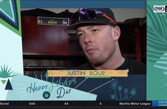 Marlins share heartfelt thoughts about their dads on Father's Day