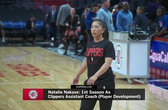 Assistant coach Natalie Nakase is making an impact on the Clippers | ClippersLive