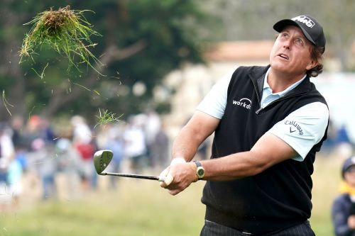 Phil Mickelson acknowledging grim US Open reality