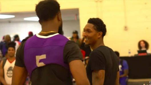 Jaylen Brown and Lou Williams Put on a SHOW at the AEBL 🎥