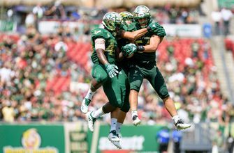 Jordan Cronkrite's 80-yard touchdown run seals USF's 20-13 win over East Carolina