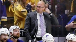 St. Louis Blues fire coach Mike Yeo, name Craig Berube as interim