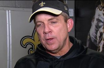 Sean Payton tells Erin Andrews what the refs told him after controversial non-call