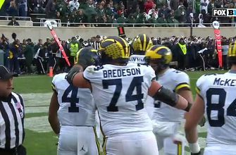 Michigan scores its first passing TD vs. Michigan State since 2011