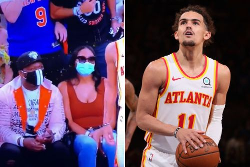 Knicks ban fan after video shows him spitting on Trae Young