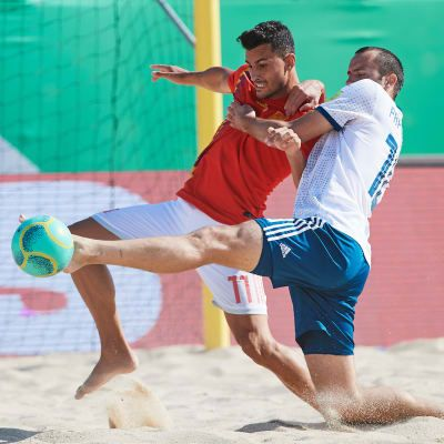 Europe's beach elite eyeing World Cup places