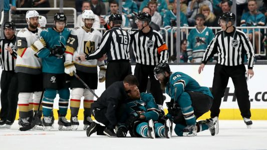 NHL apologizes to Vegas for key Game 7 penalty call; refs out for next round, report says