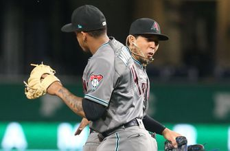Marte's single in 13th lifts D-backs over Pirates