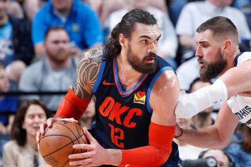 Thunder's Steven Adams was 'boxing out cows' to prep for NBA restart