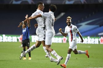 PSG stages late comeback to oust Atalanta, reach CL semis