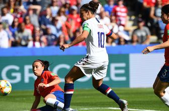 FIFA Women's World Cup™: United States' Carli Lloyd becomes 1st player to score in 6 straight WWC games | HIGHLIGHTS