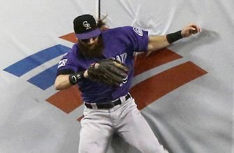 LEADING OFF: Rockies-Dodgers duel, Red Sox try to clinch