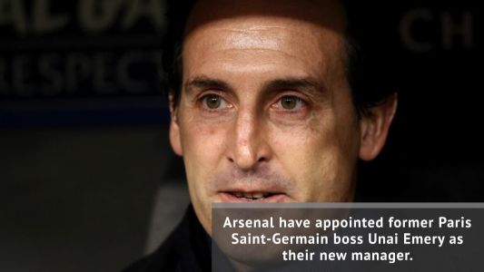 Emery appointed new Arsenal manager
