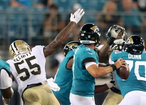 After a year out of football, Jayrone Elliott impressed in his Saints debut