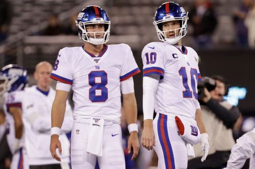 Oddsmakers agree Eli Manning isn't saving the Giants