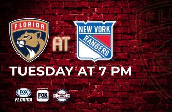 Preview: Panthers begin long trip away from home with showdown against Rangers