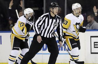 Penguins surge to 5-2 win over Rangers