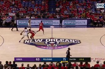 HIGHLIGHTS: Jrue Holiday with the strong defense | Sacramento Kings at New Orleans Pelicans