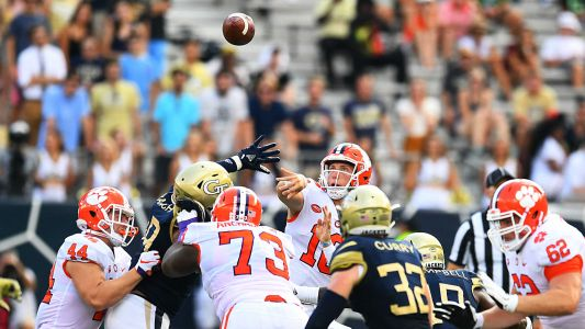 With Trevor Lawrence, Clemson looking at bigger Playoff picture