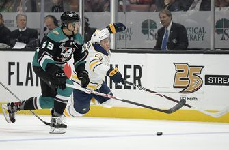 Risto caps Buffalo Sabres' rally past Ducks for 4-2 victory