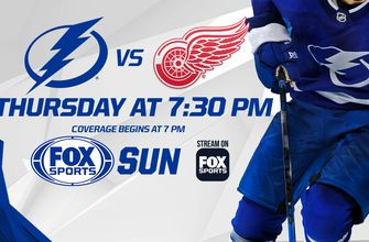 Preview: Lightning look to get their stars going against winless Red Wings