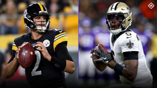For Steelers and Saints, Mason Rudolph and Teddy Bridgewater deserve chances to keep playoffs in sight