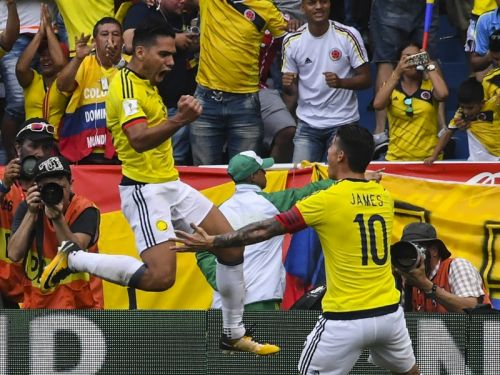 Falcao and James lead Colombia's provisional World Cup squad