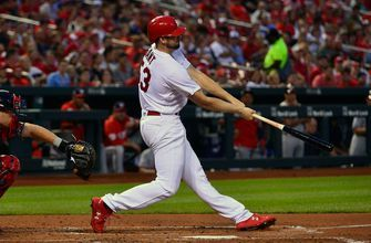 WATCH: Gant blasts home run for first MLB hit, Wong adds home run in sixth