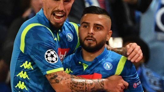 Insigne makes history with Champions League leveller against PSG