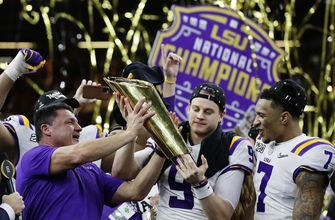 Champs! LSU finishes No. 1 in AP Top 25 for third time