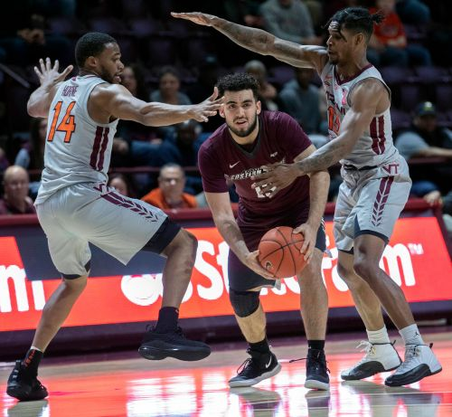 Virginia Tech flexing muscle on defensive end of the court