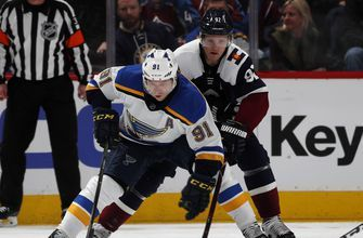 Blues beat Avalanche 3-0 for 9th straight victory