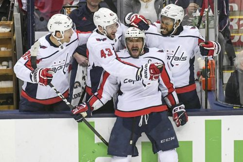 Capitals finding home ice isn't always an advantage