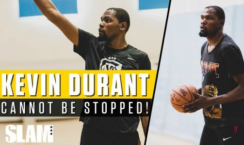 Kevin Durant Puts in Work at Private NBA Run with Rico Hines 💪