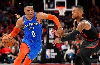 WATCH: Nick Wright thinks Westbrook's numbers show he's back to playing at a MVP-level in the last 9 games | First Things First