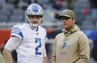 Lions QB Stafford sits out practice after missing start