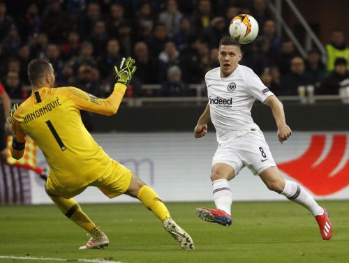 Jovic playing huge role in Eintracht Frankfurt's success