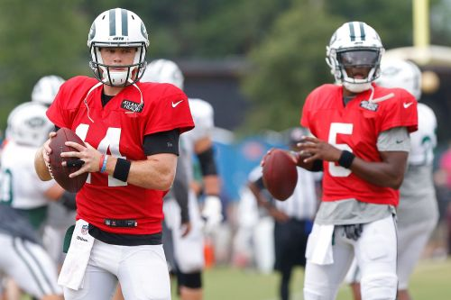 Jets GM Mike Maccagnan impressed with Sam Darnold, open to Teddy Bridgewater trade