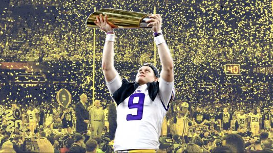 By winning title Joe Burrow caps off greatest individual season in college football history