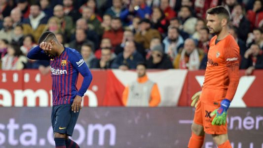 Malcom, Philippe Coutinho both struggle again as Barca dig another Copa de Rey hole