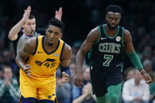 How Donovan Mitchell bounced back against the Celtics